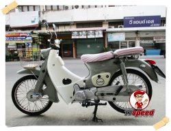 ขายสด Lifan Vintage 110 สตาร์ทมือปี60 ไมล์ 230โล