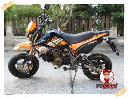 ขาย Kawasaki New KSR 110 วิ่งน้อยรถมือเดียว ผ่อนเดือน 756 บาท