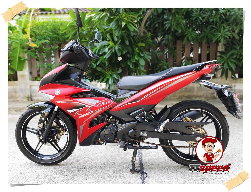 ขาย New Yamaha Exciter 150 สีแดงรถ 7 เดือนรุ่นใหม่ล่าสุดสภาพป้ายแดง