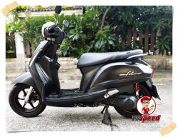 ขายสดผ่อน Yamaha Grand Filano 125 สีดำด้านปี 59 ผ่อนเดือนละ 1720 บาท