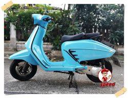 ขาย Moto Parilla Levriero 150 สีฟ้าสภาพใหม่รถจดปี 62 วิ่ง 1000 โล