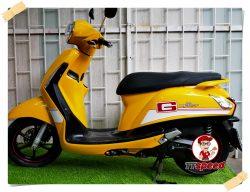 ขาย Yamaha Grand Filano 125 ทำสีเหลือง Bumblebee ผ่อนได้เครื่องดี