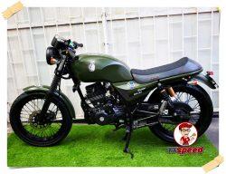 ขาย RYUKA INFINITY RK125 สตาร์ทมือสีเขียวรถมือเดียวปี 60