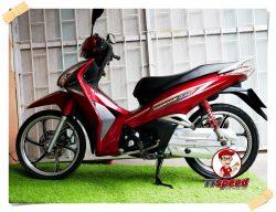 ขาย Honda Wave 125i สีแดงสภาพสวยพร้อมขี่ผ่อนเดือนละ 1444 บาท