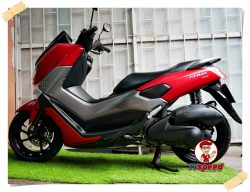 ขาย Yamaha Nmax 155 ABS รถจดปี 60 สีแดงด้านสภาพดีเล่มพร้อม