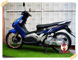 ขายรถบ้าน Yamaha Nouvo MX สีน้ำเงินเครื่องแน่นขี่ดีเอกสารเล่มพร้อมโอน