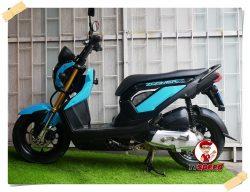Honda Zoomer-x รถบ้านมีเล่มพร้อมเครื่องดีผ่อนได้เดือนละ 1375 บาท