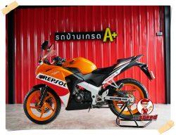 Honda CBR 150R Champion Special Edition ปี58 ผ่อน1,547 บาท