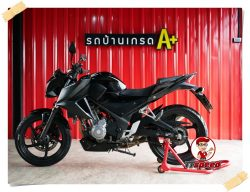 รถบ้าน Honda CB300F ABS ไมล์แท้วิ่งแค่ 12000 โลผ่อนเดือน 1805 บาท