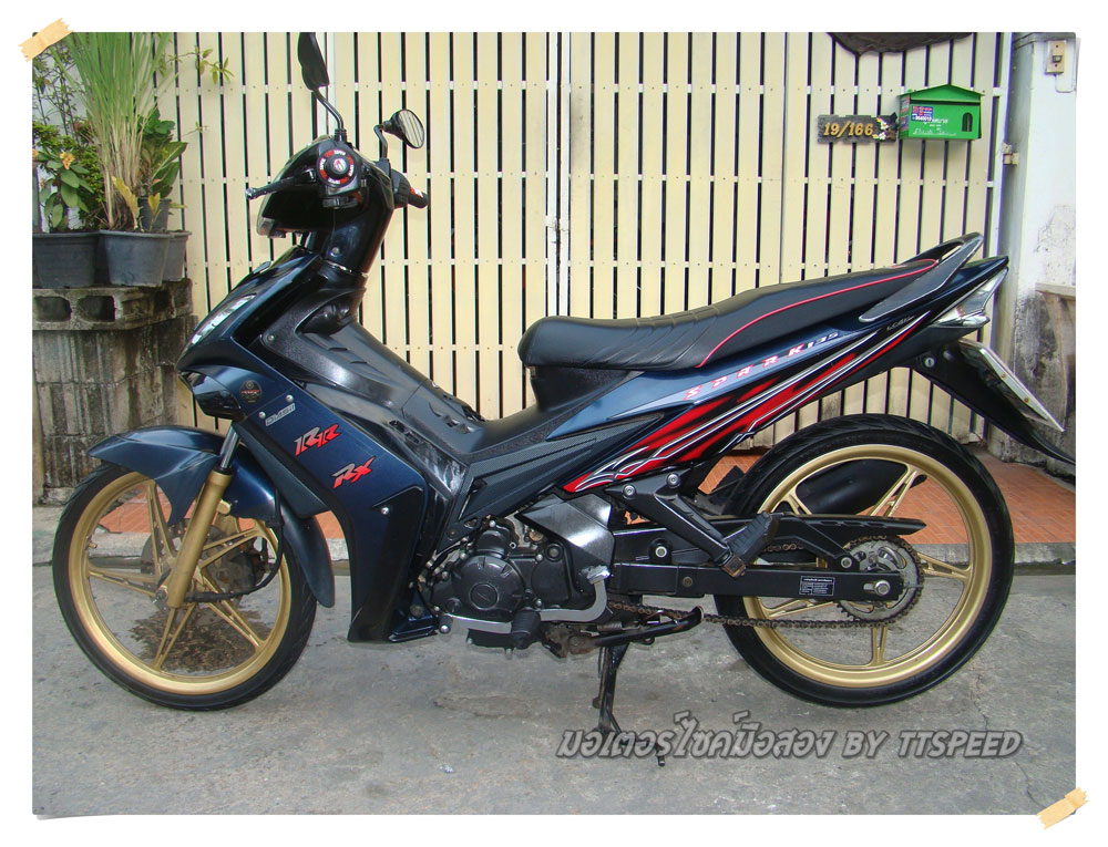 Yamaha Spark 135  limited edition จดปี 49